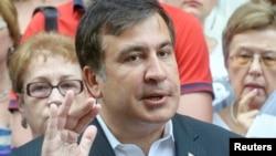 Экс-президент Грузии Михаил Саакашвили