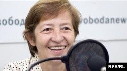 Правозащитник Елена Рябинина. 24 июля 2009 года.