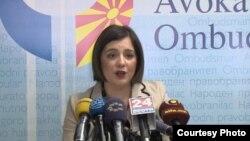 Уранија Пировска, извршен директор на Хелсиншкиот комитет на Македонија.
