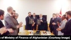 امضای تفاهمنامه بیمه میان مقام های افغان و ترکیه