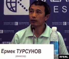 'Келін' фильмінің режиссері – Ермек Тұрсынов. 30 маусым 2010 жыл.