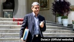 علی طیبنیا، وزیر جدید اقتصاد ایران.