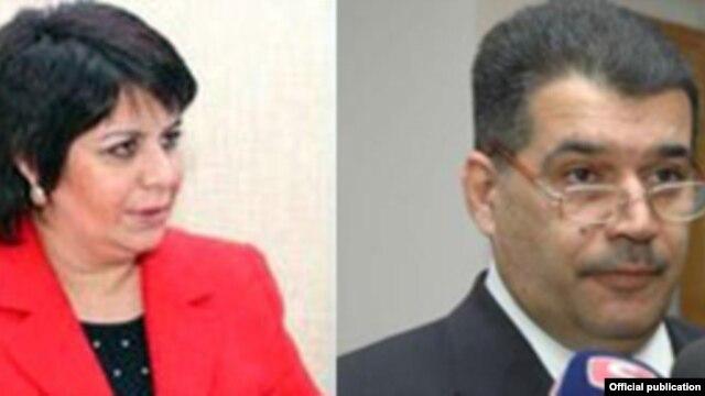 Gülər Əhmədova və Elşad Abdullayev