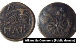 Монета из Пантикапея. III в. до н. э.