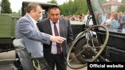 Александр Евстигнеев и Михаил Блинов