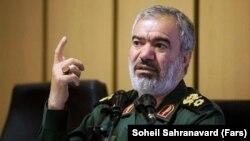 Ali Fadavi is the second most senior commander in Iran's Islamic Revolutionary Guards Corps. (file photo)
