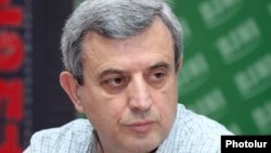 Председатель постоянной парламентской комиссии по финансово-кредитным и бюджетным вопросам Гагик Минасян