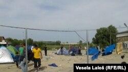 Horgoš, izbeglice