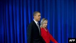 Обама ва Клинтон дар долонҳои нишасти АСЕАН
