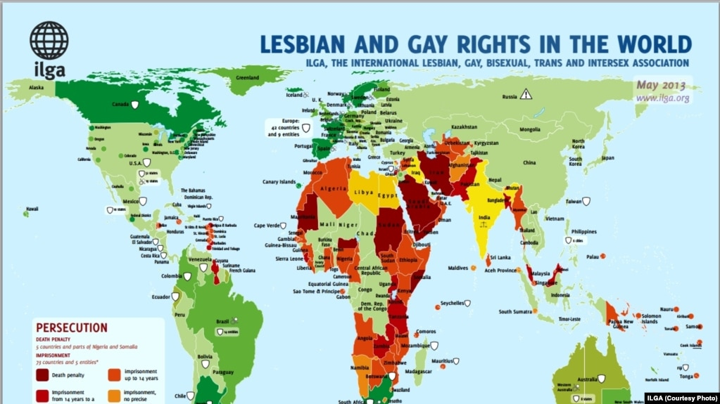 Criminalization of homosexuality by country
