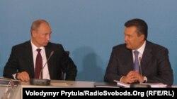 П'яте засідання українсько-російської міждержавної комісії, Ялта, 12 липня 2012 року. Віктор Янукович і Володимир Путін