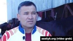 Руководитель сборной Кыргызстана по кок-бору Талас Бегалиев.