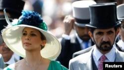 Princeza Haja Bint al-Husein sa suprugom, vladarom Dubaija šeik Muhamedom bin Rašid al Maktumom