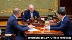 Аляксандар Лукашэнка, Валерый Вакульчык і Іван Наскевіч