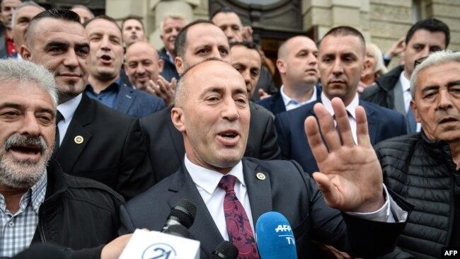 Ramuš Haradinaj u Prištini