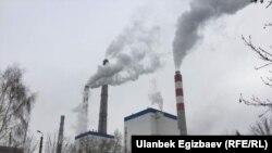 ТЭЦ Бишкека. 30 января 2018 года.