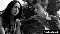 Джоан Баэз и Боб Дилан