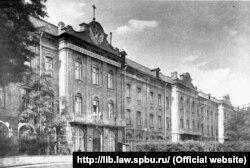 Санкт-Пецярбурскі ўнівэрсытэт на пачатку XX стагодзьдзя