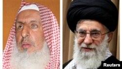 رهبر جمهوری اسلامی ایران - مفتی اعظم عربستان سعودی