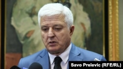 Montenegrin Prime Minister Dusko Markovic (file photo)