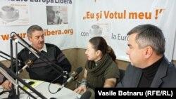 Alexandru Ursu, Ludmila Andronic şi Dumitru Roşcovan