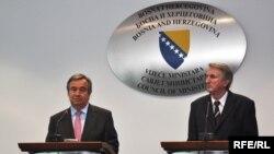 Antonio Guteres i Safet Halilović, Foto: Midhat Poturović