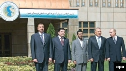 İran, Azərbaycan, Qazaxıstan, Rusiya və Türkmənistan prezidentləri bəyannamə imzalayıblar