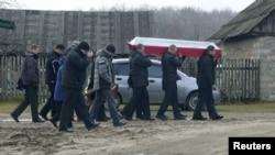Похороны, прогибшего в Сирии (архивное фото)