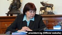 Ольга Лаврова в бытность министром финансов. 8 января 2014 года.
