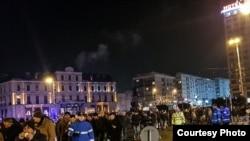 Антикорупційний протест у столиці Румунії Бухаресті, 20 січня 2018 року