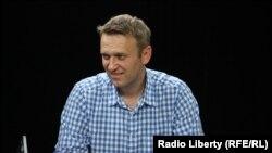 Российский оппозиционер Алексей Навальный.