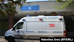 Moldova - Balti, covid, coronavirus, people with masks, hospital, emergency car