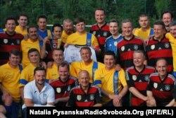 Футбольні команди депутатів Верховної Ради України та Бундестагу