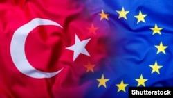 Եվրամիության և Թուրքիայի դրոշները, արխիվ