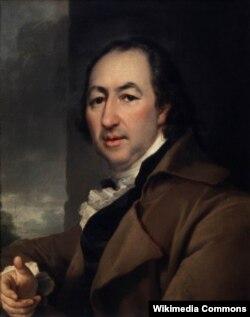 Дмитрий Левицкий. Портрет Николая Новикова. 1797