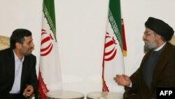 دیدار سید حسن نصرالله با محمود احمدی نژاد
