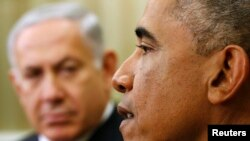 В программу очередного визита премьер-министра Израиля в США его встреча с Бараком Обамой не входит