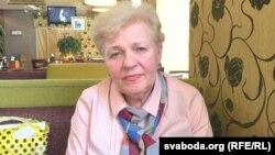 Людміла Станіславаўна, маці журналіста Паўла Шарамета