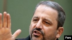Iran police chief Ismail Ahmadi Moghaddam, formerly a senior commander in the paramilitary Basij, in an undated photo