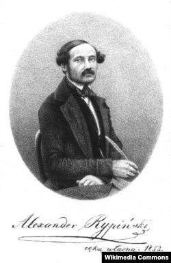 Аляксандар Рыпінскі, Лёндан, 1853