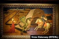 Paulo Ucello, Sfîntul Gheorghe și dragonul