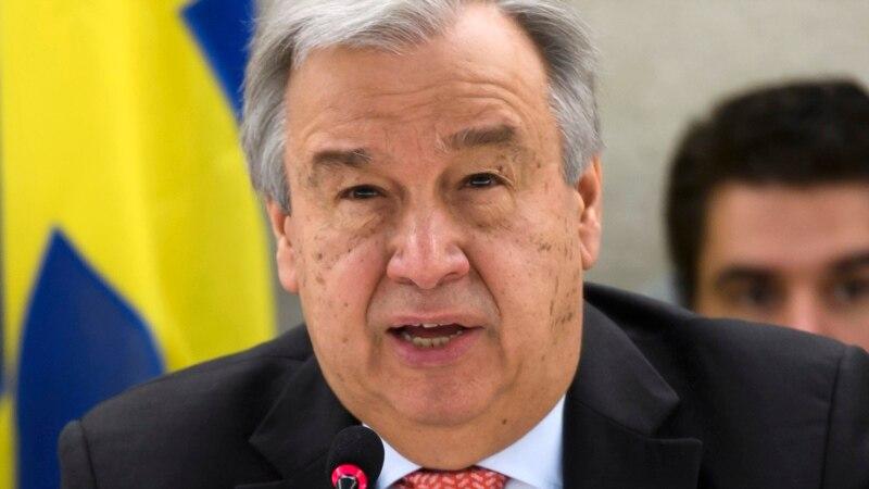 Генеральний секретар ООН привітав угоду між Росією, Іраном, Туреччиною щодо зон безпеки в Сирії