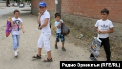 Dagestan-- Children celebrated Ramadan
