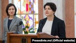 Maia Sandu și Natalia Gavrtiliță
