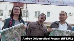 Мария Филина и Фархад Байгузин активно участвовали в митингах и сходах, на которых критиковали Генплан