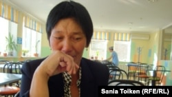 Баян Шукиргалиева, мать Меирбека Жанкуатова. Актобе, 26 ноября 2012 года.
