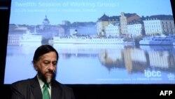راجندرا پاچائوری، رئیس نشست سازمان ملل متحد درباره آب و هوا