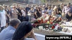Панахида за загиблими у Сімферополі