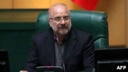 Իրանի խորհրդարանի նորընտիր խոսնակ Մոհամադ Բաղեր Ղալիբաֆ, Թեհրան, 28-ը մայիսի, 2020թ.