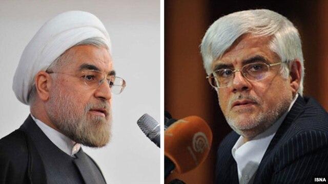 از محمدرضا عارف (راست) به عنوان یکی از گزینهها برای پست معاون اولی رئیس جمهور یاد میشود